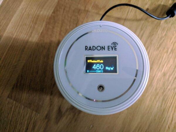 radon gáz mérés